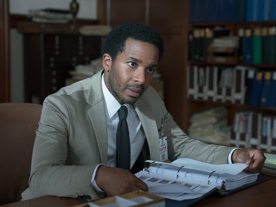 "Andre Holland stars as Henry Denver in Hulu's ""Castle Rock."""