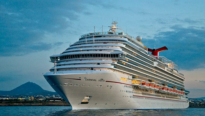 Carnival Cruise Line's newest ship, Carnival Horizon, will be a sister to Carnival Vista (shown here).