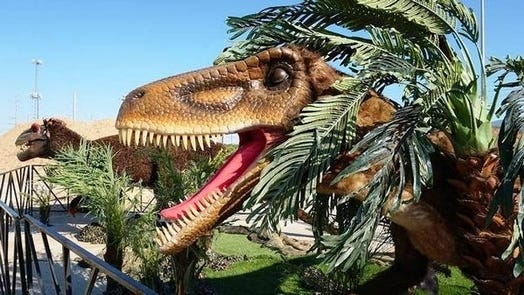 Gillette Stadium is hosting the Jurassic Quest drive-thru experience through Sept. 20, 9 a.m. to 8 p.m. Wednesday-Sunday.