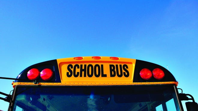 No injuries in a school bus crash Tuesday.