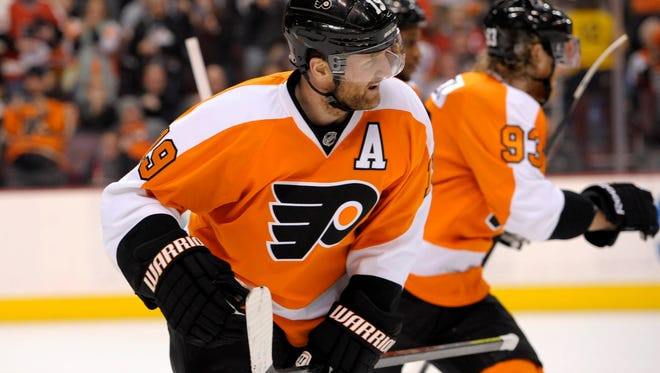 Philadelphia Flyers left wing Scott Hartnell was on the ice when Jiri Fischer collapsed in 2005, plus had his own issue with his heartbeat.