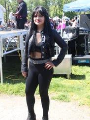 Sahira Valenzuela, 25, poses in her Selena outfit Sunday