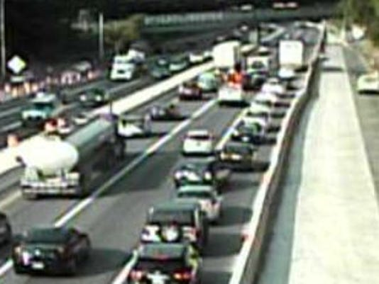 Delays ease after 4 crashes cleared on I-95 in Delaware