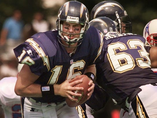 Chargers quarterback Ryan Leaf in 1998.