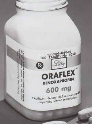 Arthritis pill Oraflex had side effects so serious it was yanked from the market.
