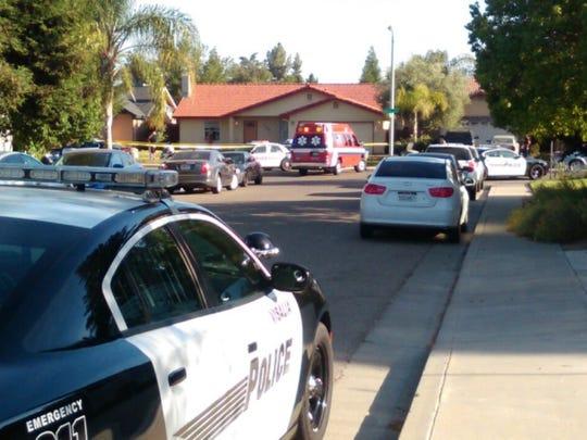 Officer-involved shooting in Visalia