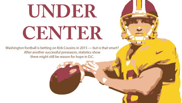 Illustration of Kirk Counsins by Brittany Cheng. Original photo by Keith Allison via Flickr with permission.