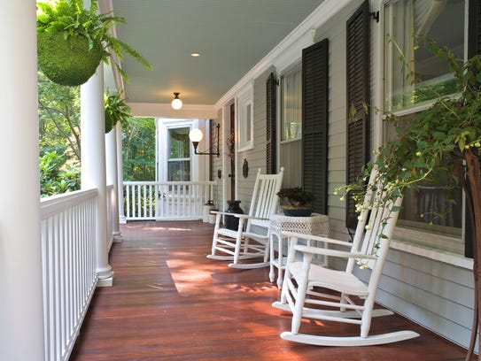 A conference on the impact of the front porch is set