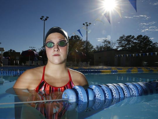 Chiles' Morgan Ayers was the All-Big Bend Swimmer of the Year in 2015 after winning a state title in the 100 breaststroke. Ayers won a state title again in 2016 and is sharing the honor with teammate Stephanie Holmes, who had two second-place state finishes.