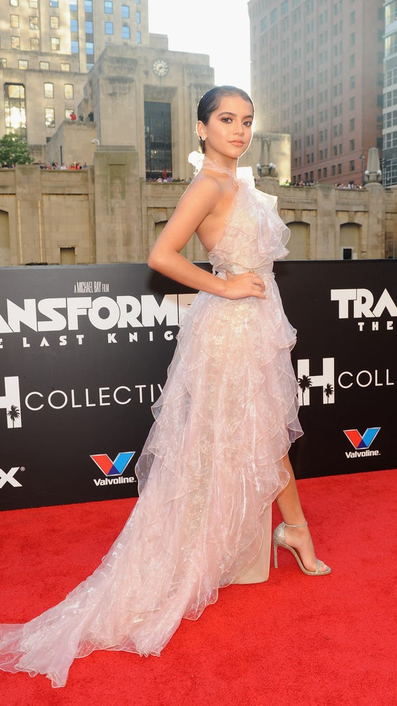 Isabela Moner was a red-carpet standout at the U.S.
