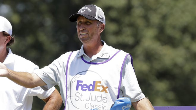 Jim Mackay, Phil Mickelson's former caddie, will join the Golf Channel and NBC as an on-course reporter, the network announced Thursday.