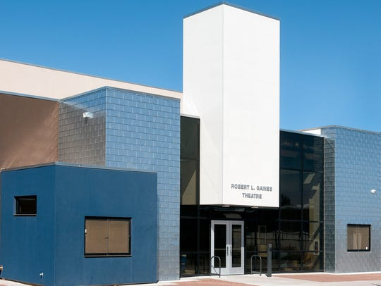The Robert L Gaines Theatre on the Las Cruces High
