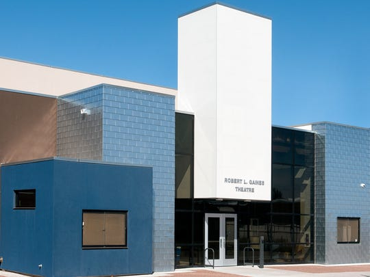 The Robert L Gaines Theatre on the Las Cruces High School Campus.