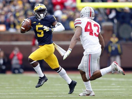 NCAA Football: Ohio State at Michigan