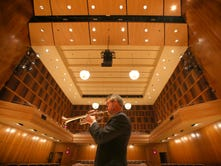 After injury, RPO trumpet player Doug Prosser regains his chops