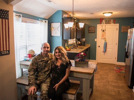 Robbie and Khala Burres, Clarksville military newcomer