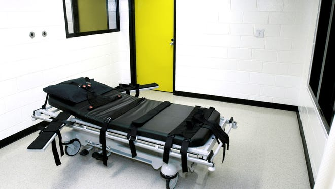 The execution chamber in Georgia, where Timothy Foster could be headed unless the Supreme Court grants a new trial because of racial discrimination in jury selection.