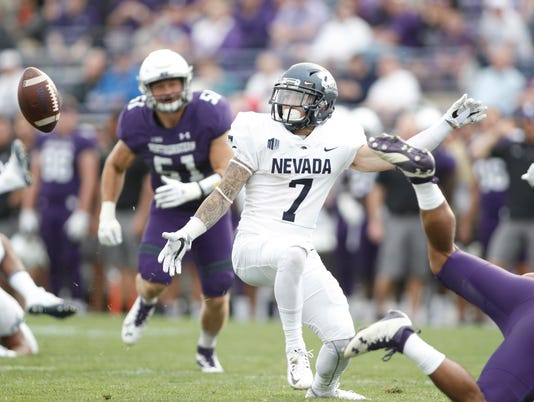 NCAA Football: Nevada at Northwestern