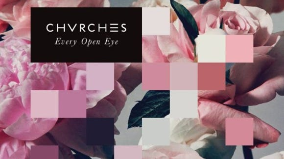 """CHVRCHES' """"Every Open Eye"""" is the bestselling album at Jupiter Records near Arden this week."""