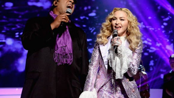 Stevie and Madonna honor The Purple One.