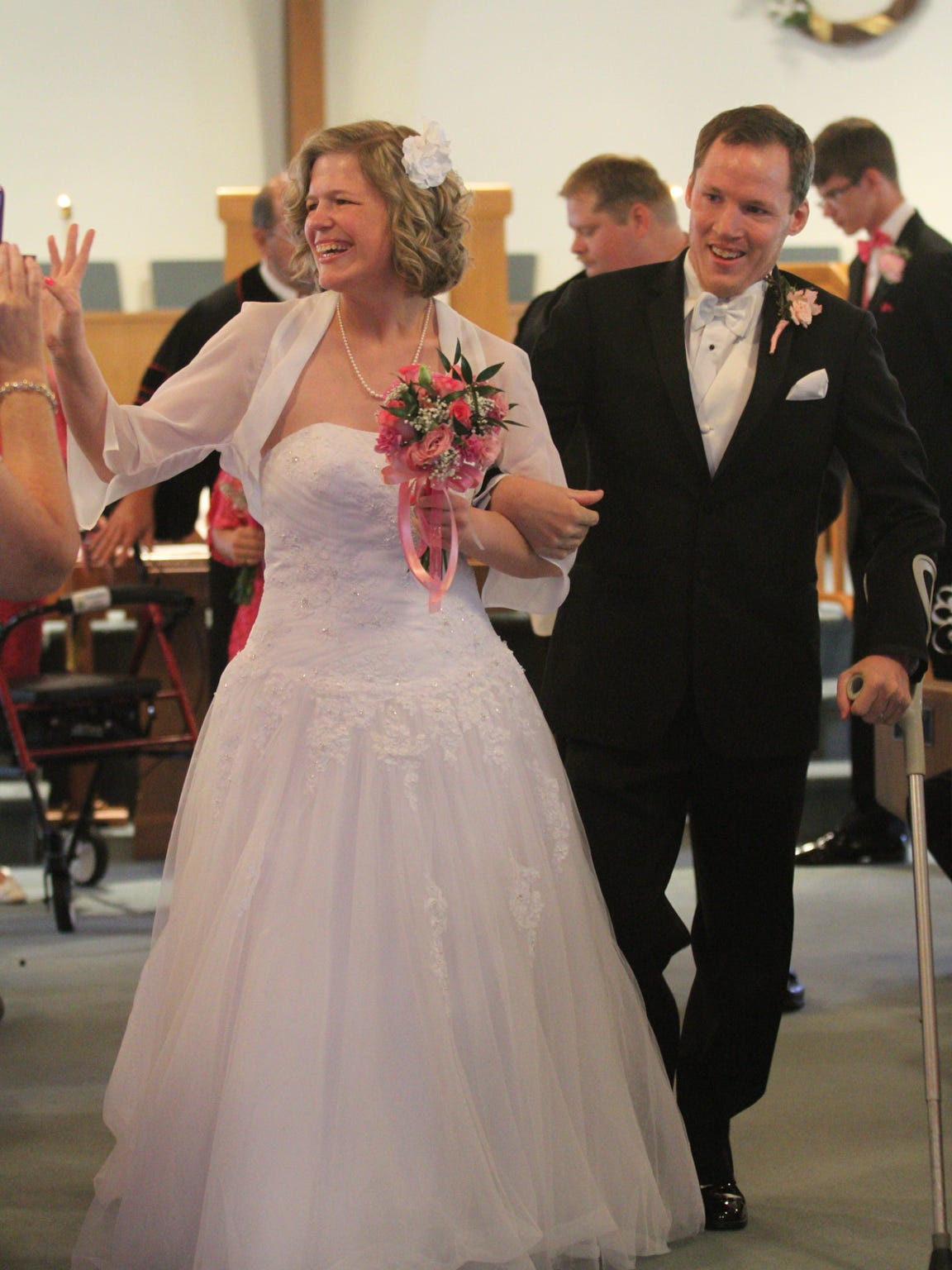 Randy and Melissa were married on May 16, 2015, in