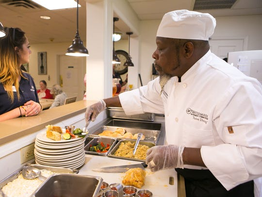Bobby Evans, sous-chef and chef manager, at Rockland