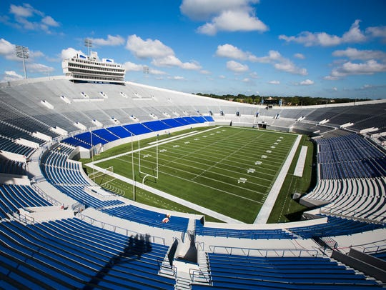 Liberty Bowl Memorial Stadium is home to the Memphis