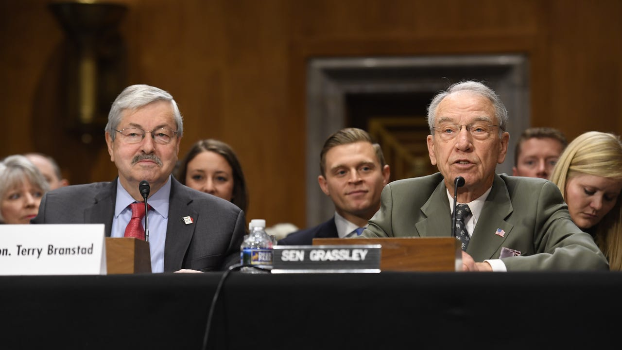 Branstad wants to go the 'Full Grassley' as ambassador to China