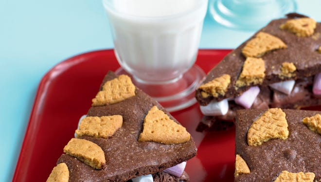 """S'more sandwiches recipe from """"Ice Cream Sandwiches: 65 Recipes for Incredibly Cool Treats"""" by Donna Egan."""
