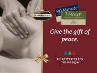 BOGO 50% off at Elements Massage