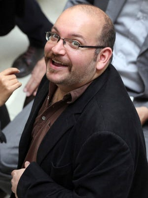 """""""Washington Post"""" reporter Jason Rezaian, who has been detained in Iran for eight months."""