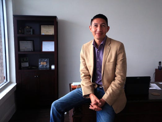 Ben Molina, one of several newly elected City Council