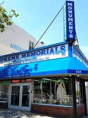 Supreme Memorials in Brooklyn, New York.