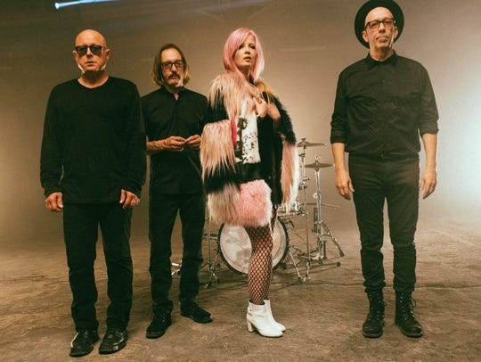 Garbage, featuring vocalist Shirley Manson, will perform