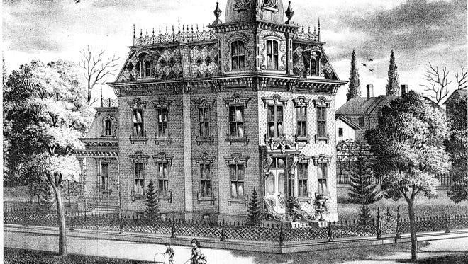Fabing House, 201 Park Avenue, Fremont, 1874.