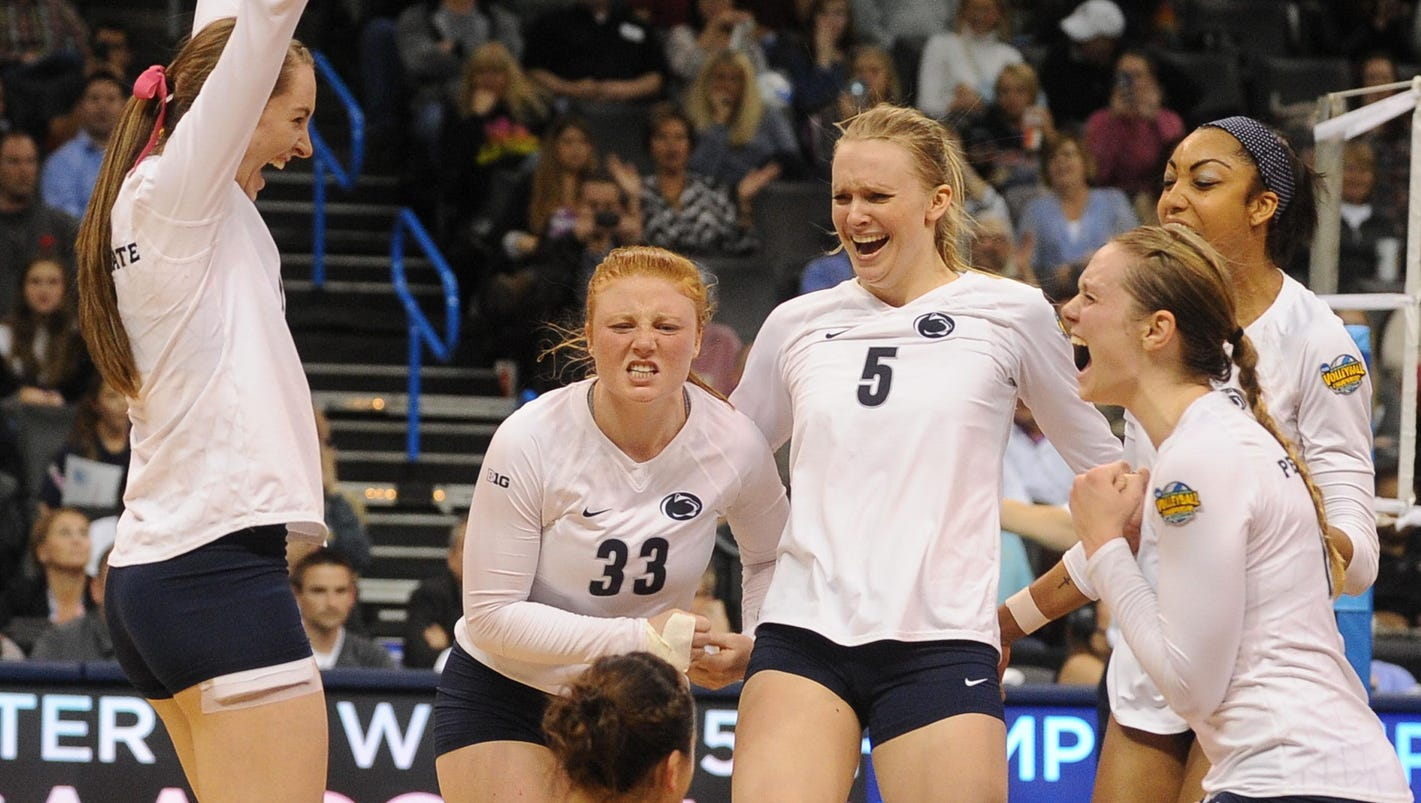 Penn State repeats as women's volleyball champs