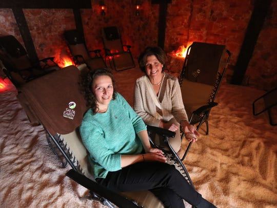 Susan Toron and Sheryl Silver, co-owners of the Salt