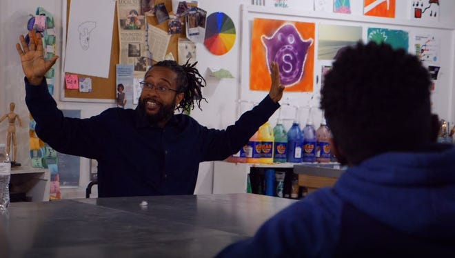 """Jon Royalleadsa program called""""August Wilson Gets R.E.A.L.,"""" which pairs select works from Pulitzer Prize-winning playwright August Wilson with existing curriculum from Reaching Excellence as Leaders (R.E.A.L.)."""