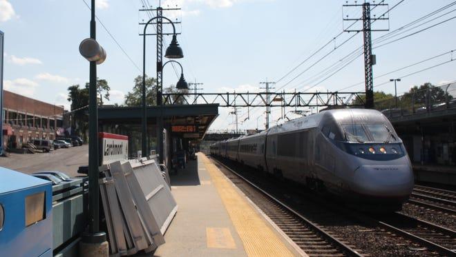 Metro-North Railroad's Larchmont station