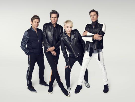 "Duran Duran, touring behind new album ""Paper Gods,"""