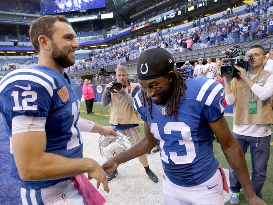 With an offense piloted by Andrew Luck and T.Y. Hilton,