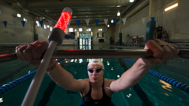 Deaf swimmer inspires change major change at the starting line