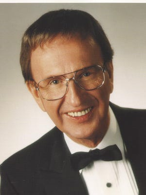 Ron Harvey, director of the Ron Harvey Orchestra and a radio personality at local station KFIZ for decades. Harvey, whose real name was Ron Bothe, died in 1998.