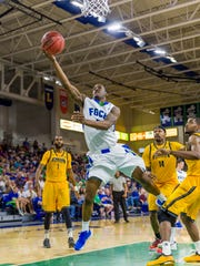 Sophomore Zach Johnson is one of three FGCU point guards the Eagles can toss at foes.