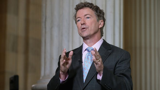 Sen. Rand Paul, R-Ky., discussed his objection to the government's data collection during a television interview this week on Capitol Hill.