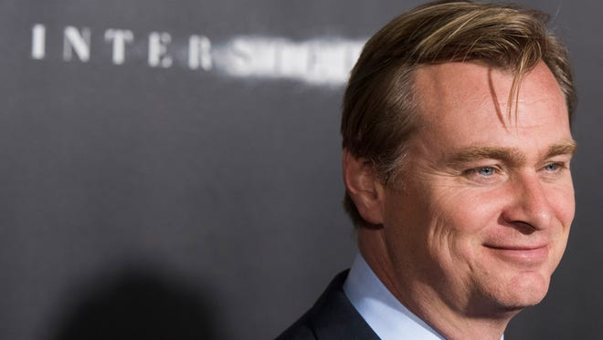 "Director Christopher Nolan attends the ""Interstellar"" premiere in 2014."