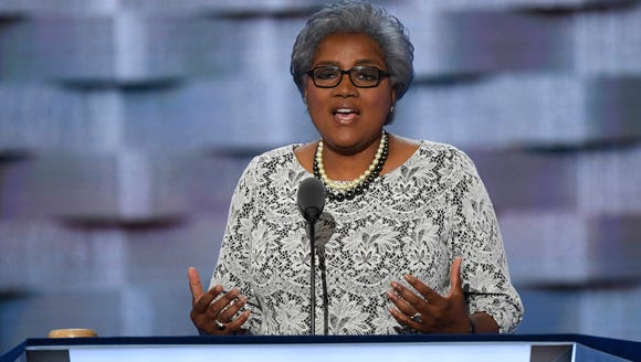 Donna Brazile speaks during the 2016 Democratic National