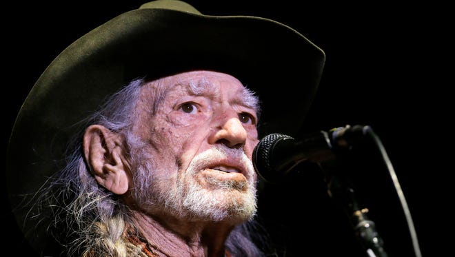 Willie Nelson on Jan. 7, 2017. (AP Photo/Mark Humphrey, File)