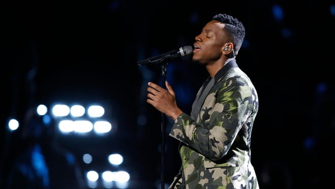 Straight Up Hollywood was backstage interviewing Chris Blue moments after his victory on 'The Voice.'