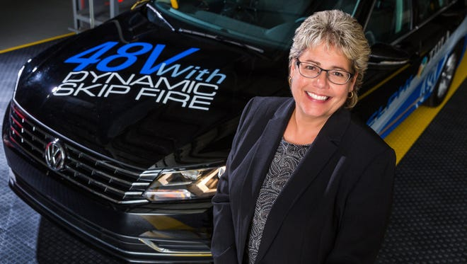 Delphi Technologies Chief Technology Officer Mary Gustanski says the automotive industry is at an inflection point.